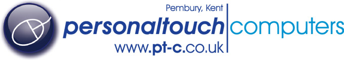 Personal Touch Computers - serving Tunbridge Wells, Sevenoaks, Maidstone and the rest of Kent & Sussex Logo